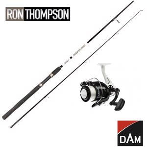 Ron Thompson Refined Spin | DAM Fighter Pro Combo inkl 0.28mm line