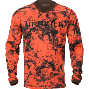 Wildboar Pro L/S t-shirt AXIS MSP® Orange Blaze/Shadow brown