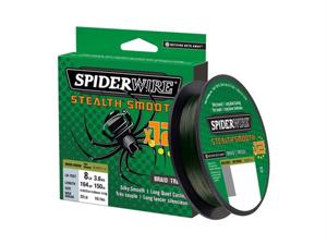 Spiderwire Stealth Smooth 12 150meter Moos Green