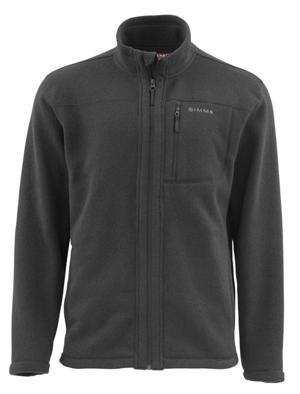 Simms Rivershed Jacket Full Zip - Black