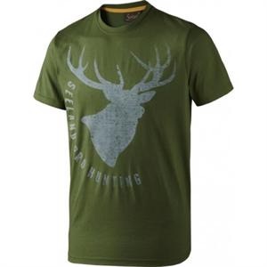 Fading stag bottle green melange