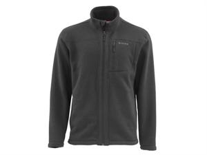 Simms Sweater Full Zip - Black